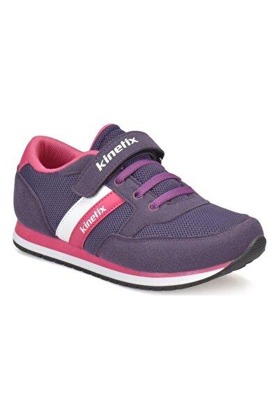 Unisex Çocuk Mor Yürüyüş Ayakkabısı