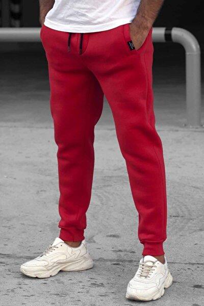 Erkek Kırmızı Basic Eşofman Altı 4210