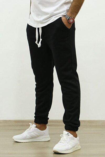 Erkek Siyah Basic Eşofman 4829