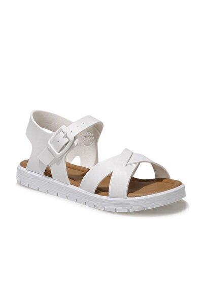508159.F1FX Beyaz Kız Çocuk Sandalet 101010667