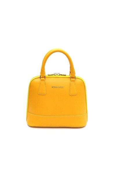 Kadın Sarı Omuz Çantası Sp511