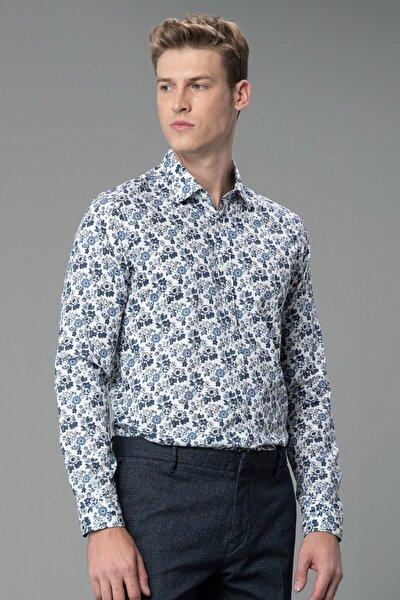 Erkek Saks Slim Fit Cluny Smart Gömlek 112010160100240