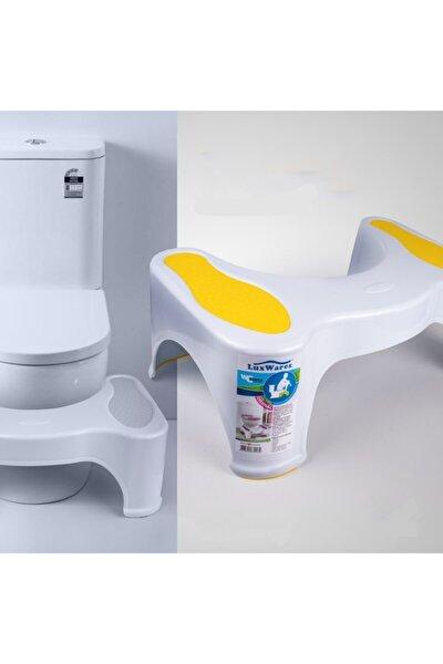 Luxwares Wc Turka Klozet Basamağı Sarı (tuvalet Taburesi-sehpası)