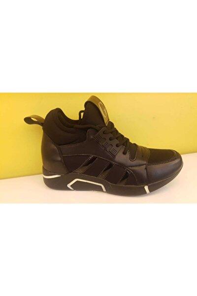 Kadın Siyah Bot Ayakkabı