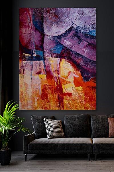 Sürreal Geçişler Kanvas Duvar Tablo 50x70
