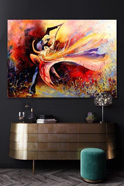 Yağlı Boya Görünümlü Dancer Kanvas Tablo 90x130