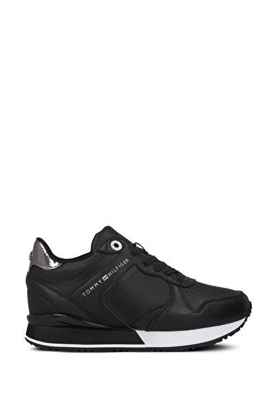 Kadın Siyah Bağcıklı Sneaker Fw0fw05016