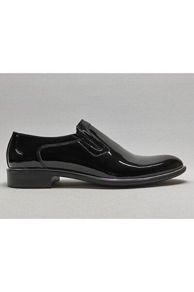 Erkek Siyah Rugan Klasik Ayakkabı