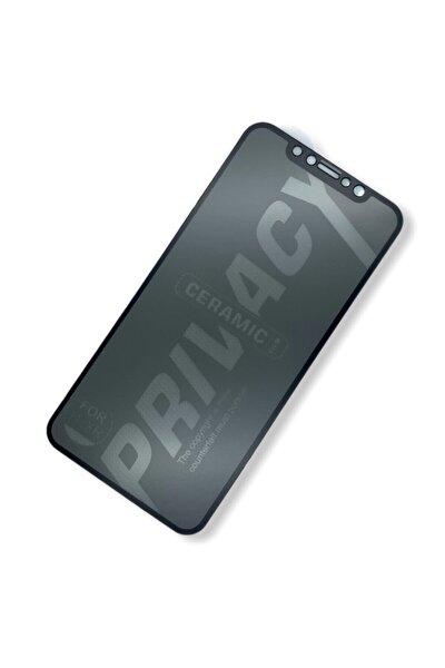 Apple Iphone 11 / Xr Tam Kaplayan Seramik Hem Mat Hem Hayalet Ekran Koruyucu - Siyah