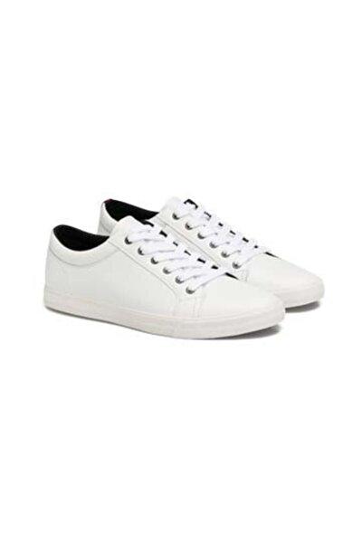 Erkek Beyaz Bağcıklı Ayakkabı