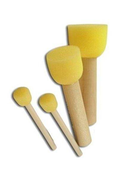 Sünger Fırça Seti 4lü Pon-pon Fırça Set A10502