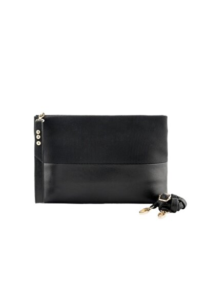 Kadın Siyah Clutch Çanta