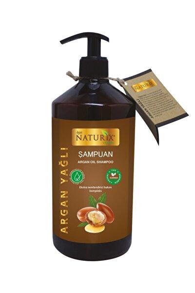 Onarıcı Bakım Tuzsuz Argan Yağlı 600 ml Bakım Şampuanı Argan Şampuanı ( Paraben Fosfat Tuz Içermez )