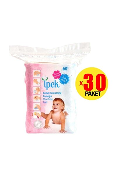 Axi Bebek Temizleme Pamuğu 60'lı 30'lu Set