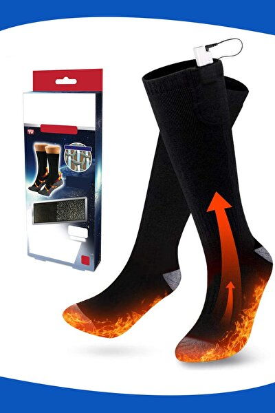 6lı Fiber Hot Socks Termal Kış Çorabı