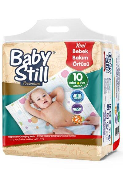 Baby Still Bebek Bakım Alt Değiştirme Örtüsü 10 Adet