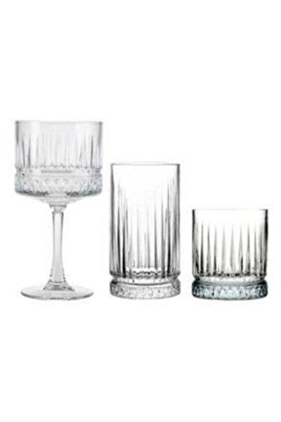 Elysıa 18 Parça Meşrubat Kadeh Bardağı Set