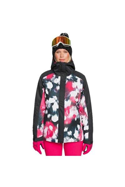 Kadın Siyah Galaxy Kayak Ve Snowboard Mont Erjtj03270-kvj4