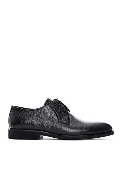 Erkek Siyah Deri Casual Ayakkabı 16 1519