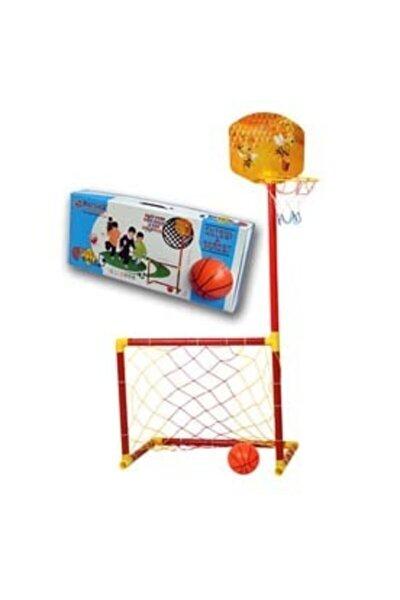 Portatif Futbol Kalesi Ve Basket Potası 2'si Bir Arada