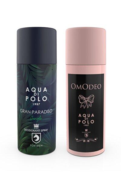 Omodeo Ve Gran Paradiso Jungle Deodorant Seti Stcc004201