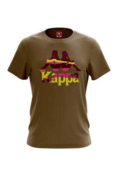 Erkek Zelkal Açık Kahverengi Baskılı T-shirt