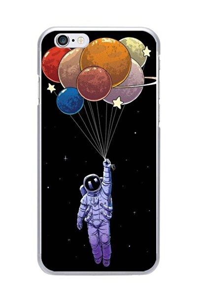 Iphone 6s Uyumlu Balonlu Astronot Telefon Kılıfı