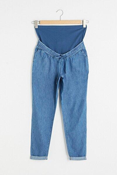 Kadın Orta Rodeo Maternity Jean