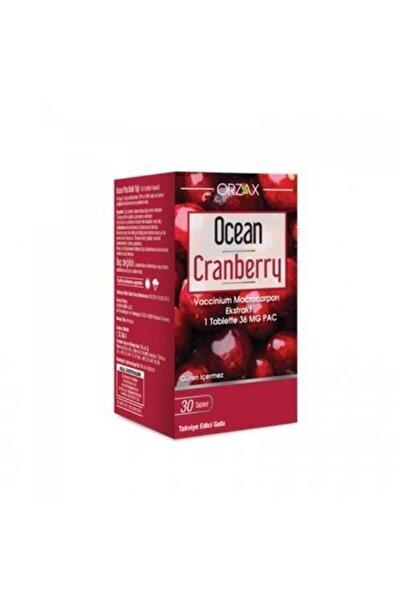 Ocean Cranberry Turna Yemişi Ekstresi 30 Tablet Takviye Edici Gıda