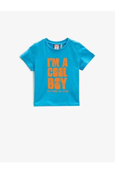 Erkek Çocuk Mavi T-Shirt