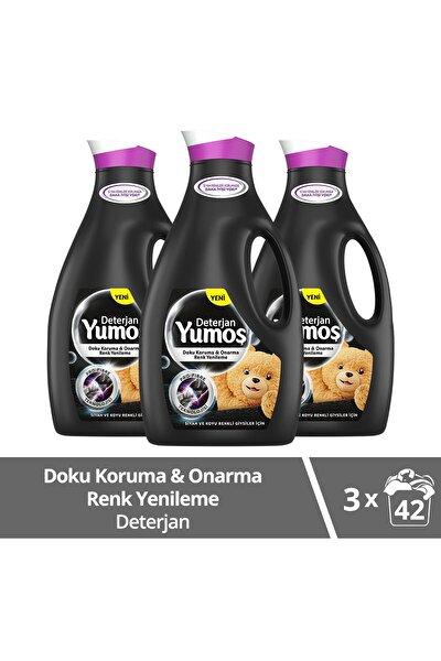 Sıvı Bakım Çamaşır Deterjanı Siyah ve Koyu Renkli Giysiler İçin 2520 ML x3