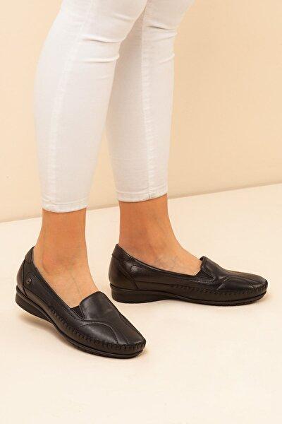 Kadın Siyah Ortopedik Ayakkabı A212yfrl0004