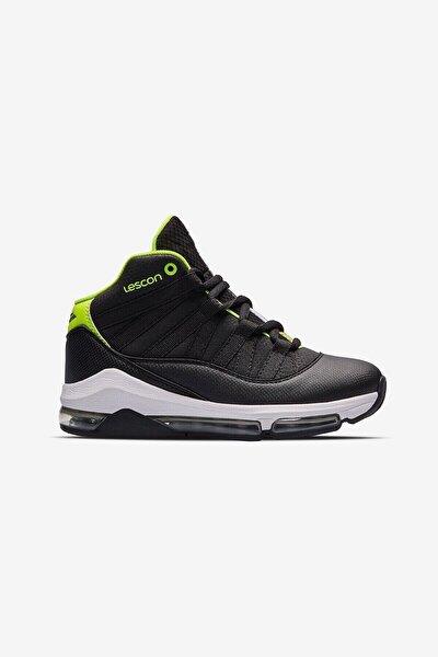 Unisex Çocuk Siyah  Junior Bounce 2 Basketbol Ayakkabısı