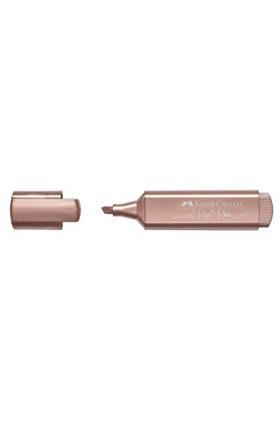 Metalik Pembe Gül Fosforlu Kalem 46