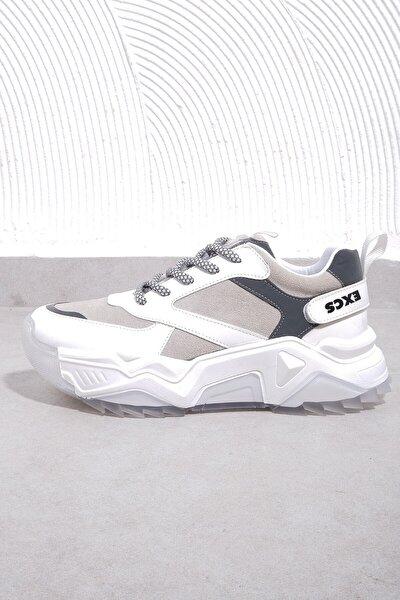 65128-2 Kadın Beyaz Spor Ayakkabı