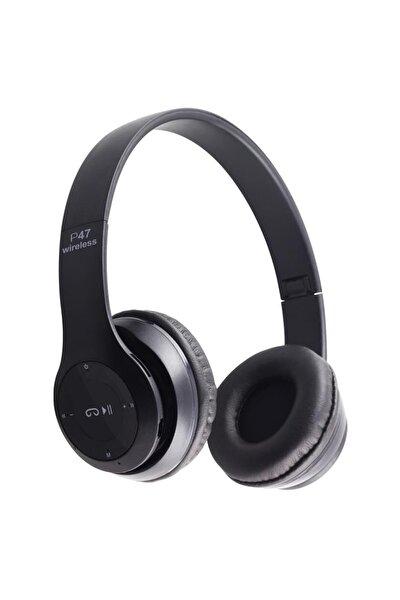 P47 Wireless Kulaklık, P47 Wireless Headphone Radyolu Versiyon, P47 Kulaklık, P47 Bluetooth Kulaklık