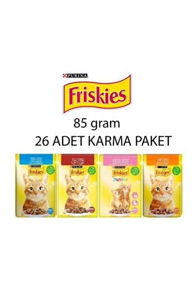 Friskies Karma 26 Adet Karma Paket