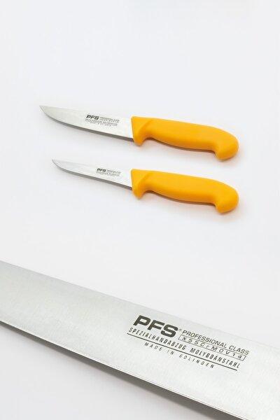 Kemik Sıyırma Ve Kasap Bıçağı 2' Li Set