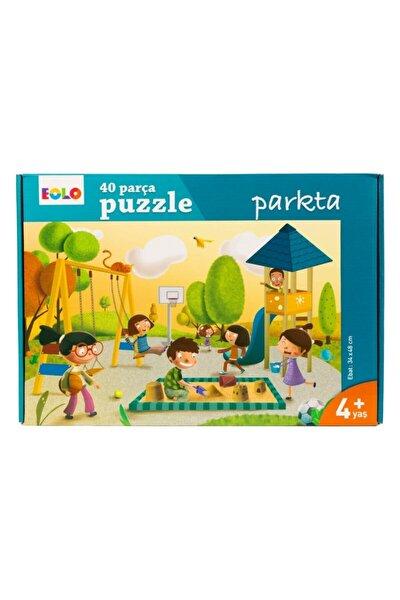 40 Parça Yer Puzzle Parkta