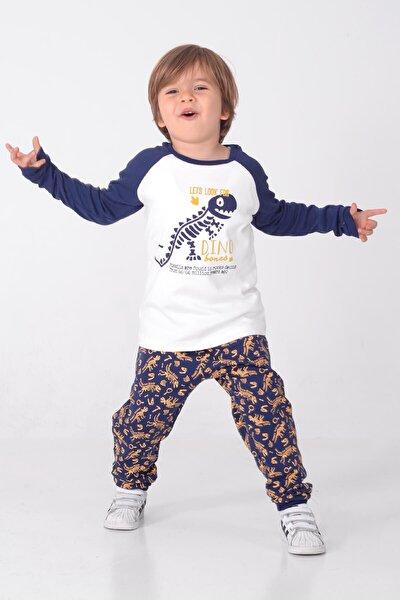 Erkek Çocuk Lacivert Pijama Takım pjm 212942