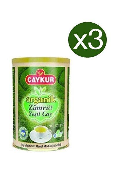 Organik Zümrüt Yeşil Çay 125 gr X 3 Adet