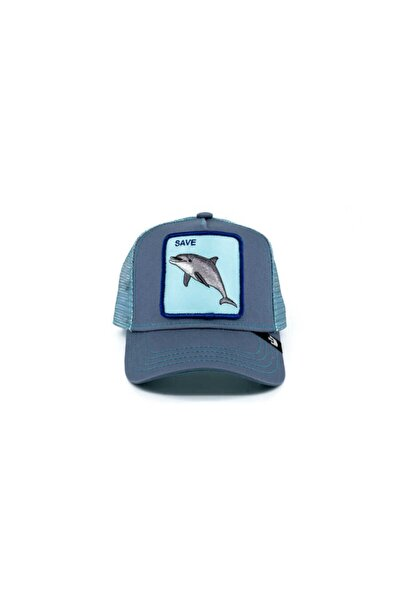 Unisex Ocean Vibes Mavi Standart Şapka 201-0023
