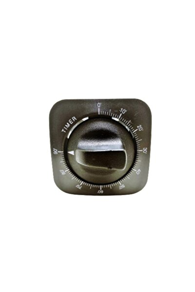 Mini Kare Fırın Zaman Saati Timer 90 Dakika