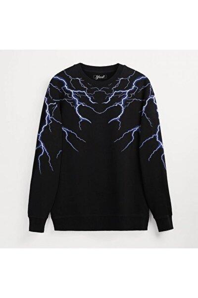 Unisex Oversize Lightning Unisex Sweatshirt