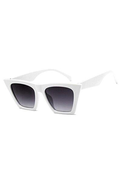 Kadın Beyaz Güneş Gözlüğü