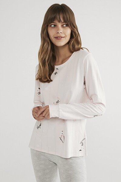 Kadın Hot Tech Winter Joy Tişört