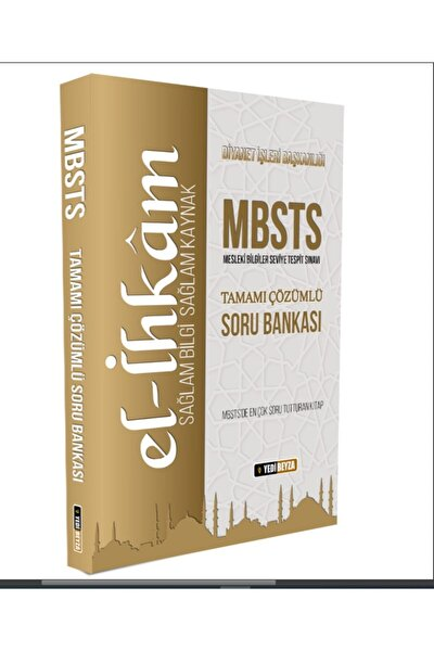 Mbsts El-ihkam Tamamı Çözümlü Soru Bankası Mehmet Ümitli