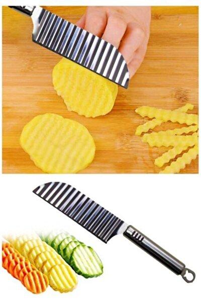 Şekilli Patates Bıçağı Paslanmaz Çelik