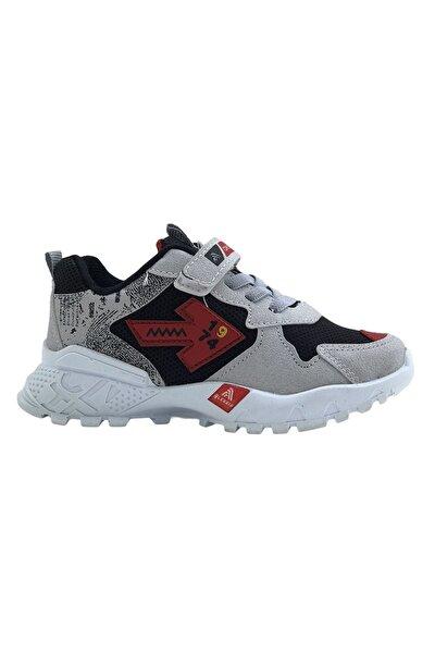 Erkek Çocuk Gri Spor Ayakkabı 2303