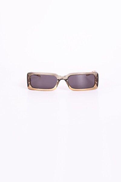 Vintage Iki Renk Çerçeve Güneş Gözlüğü